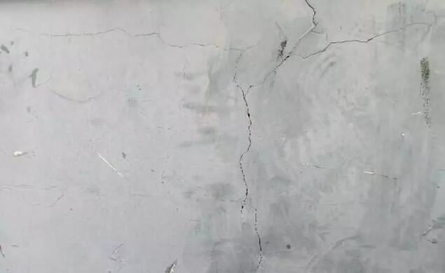 混凝土墙体裂缝处理