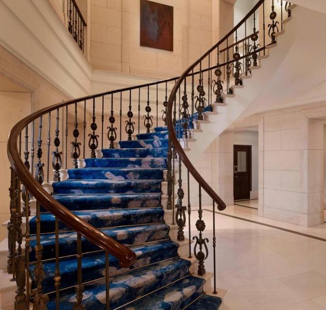 酒店楼梯改造