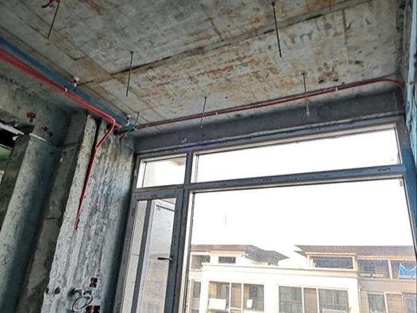 上海某小区梁上开孔碳纤维加固设计